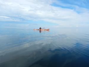 Missä menee meren ja taivaan raja.