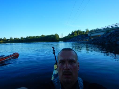 Selfie Torniossa kun homma oli ohi.