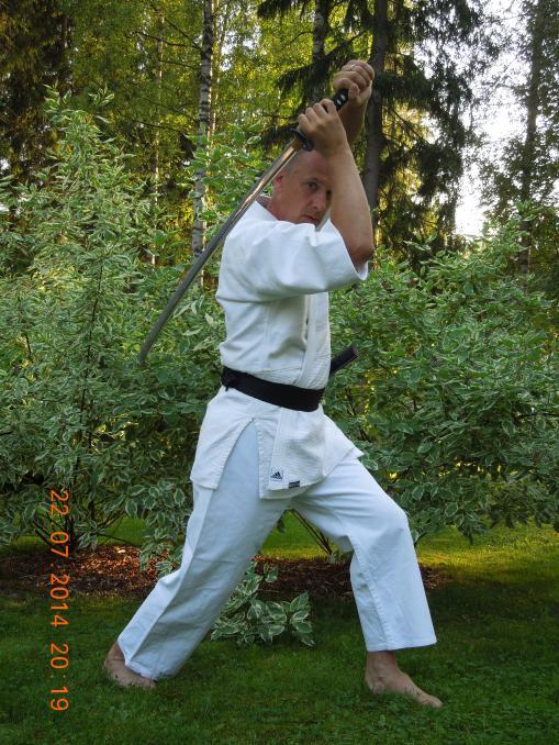 Kenjutsu on toinen rakas harrastus